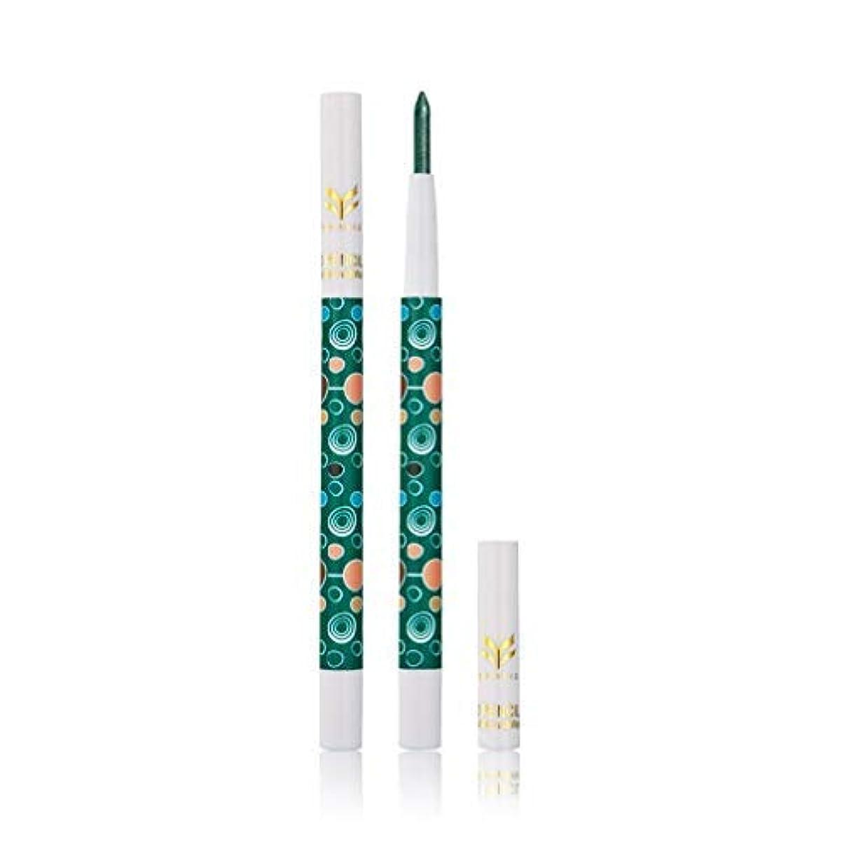 女王子孫多様な美容化粧品ツールロータリーデザイン蛍光ペンアイシャドー鉛筆化粧品のグリッターアイシャドウアイライナーペン