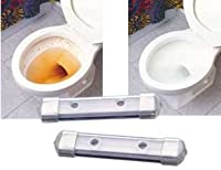 CHEMICAL FREE MAGNETIC TOILET BOWL CLEANERS - SET OF 2 [並行輸入品]