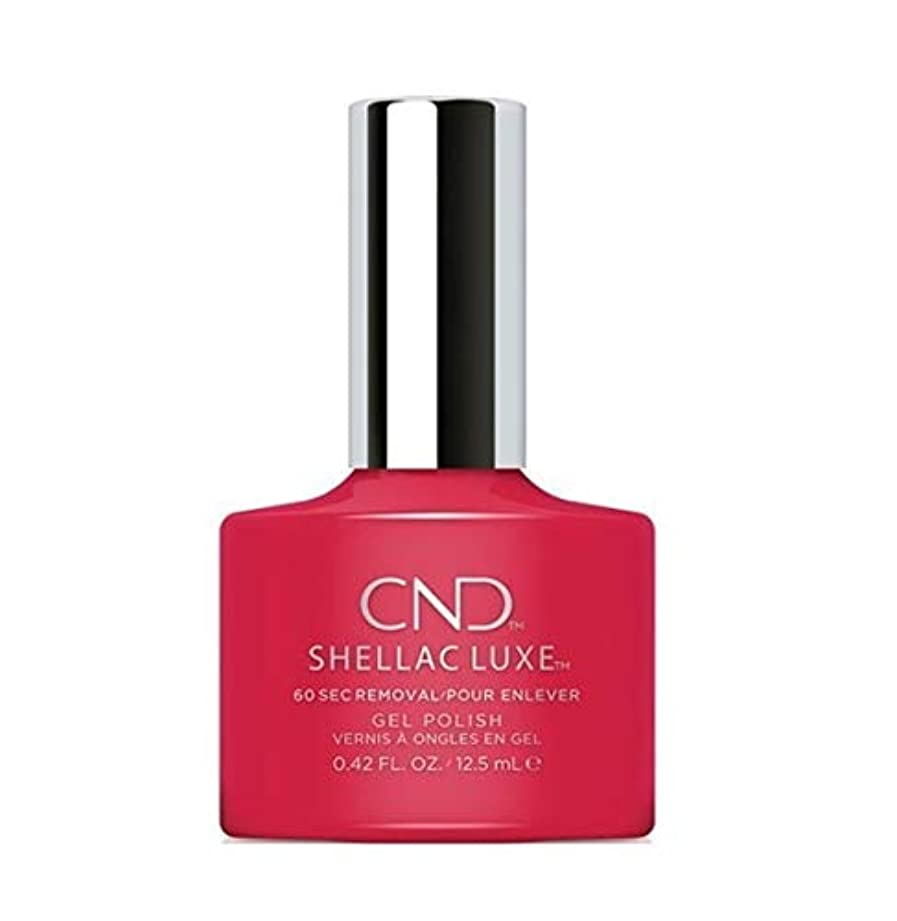 役割鏡もちろんCND Shellac Luxe - Wildfire - 12.5 ml / 0.42 oz