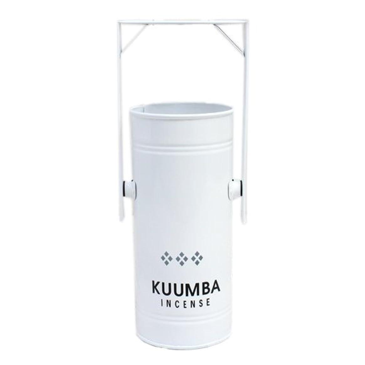 わずかな競争力のある分泌するKUUMBA (クンバ)『INCENSE BURNER-Regular』(WHITE) (ONE SIZE, WHITE)