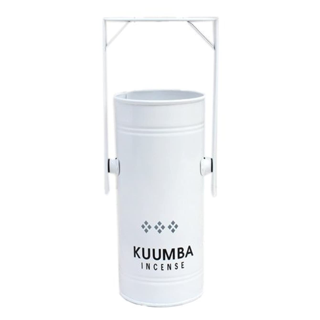 疫病観察するコピーKUUMBA (クンバ)『INCENSE BURNER-Regular』(WHITE) (ONE SIZE, WHITE)
