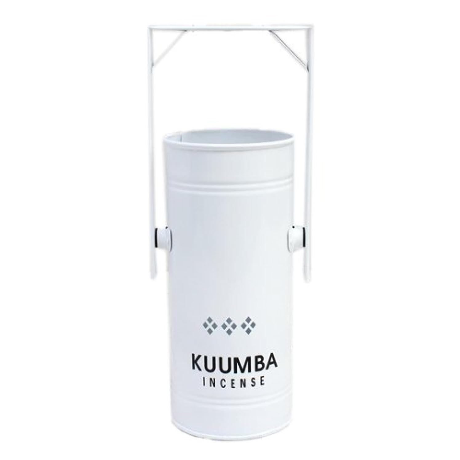 信じられない腫瘍順応性KUUMBA (クンバ)『INCENSE BURNER-Regular』(WHITE) (ONE SIZE, WHITE)