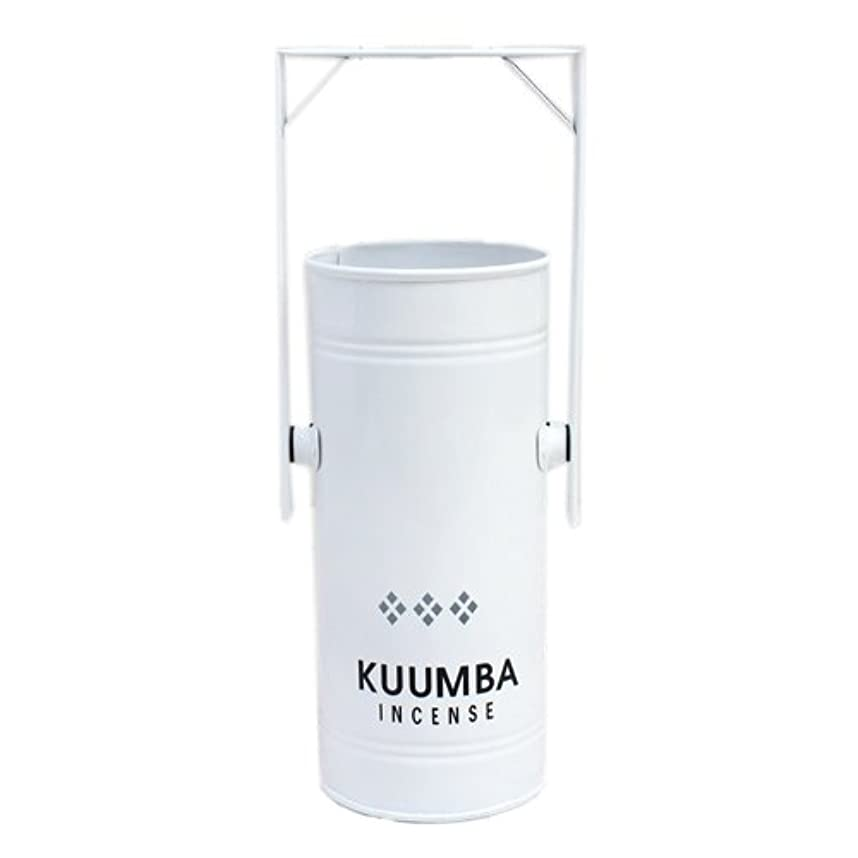 接続青写真奨励しますKUUMBA (クンバ)『INCENSE BURNER-Regular』(WHITE) (ONE SIZE, WHITE)