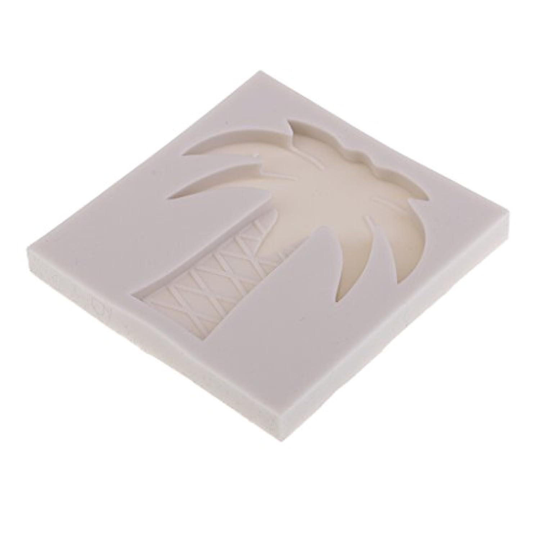 Fenteer DIYケーキ金型 ココナッツパーム型 液体シリコーン金型 耐熱性 -40Fから230Fまで 高品質 使いやすい