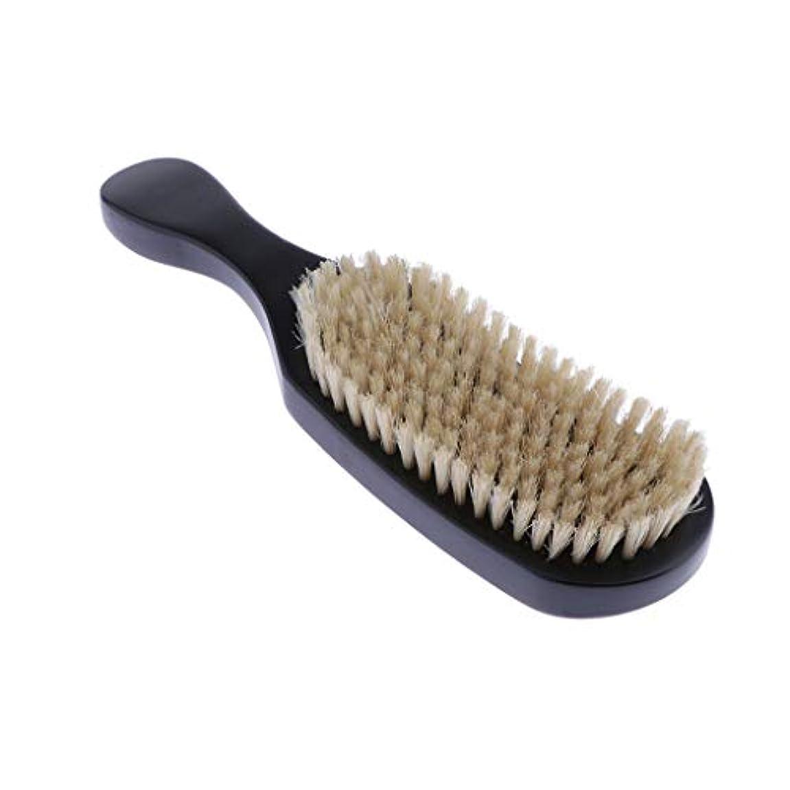 キャベツ隔離ロードされたへアカラーセット ヘアダイブラシ DIY髪染め用 サロン 美髪師用 ヘアカラーの用具 全4色 - ブラック