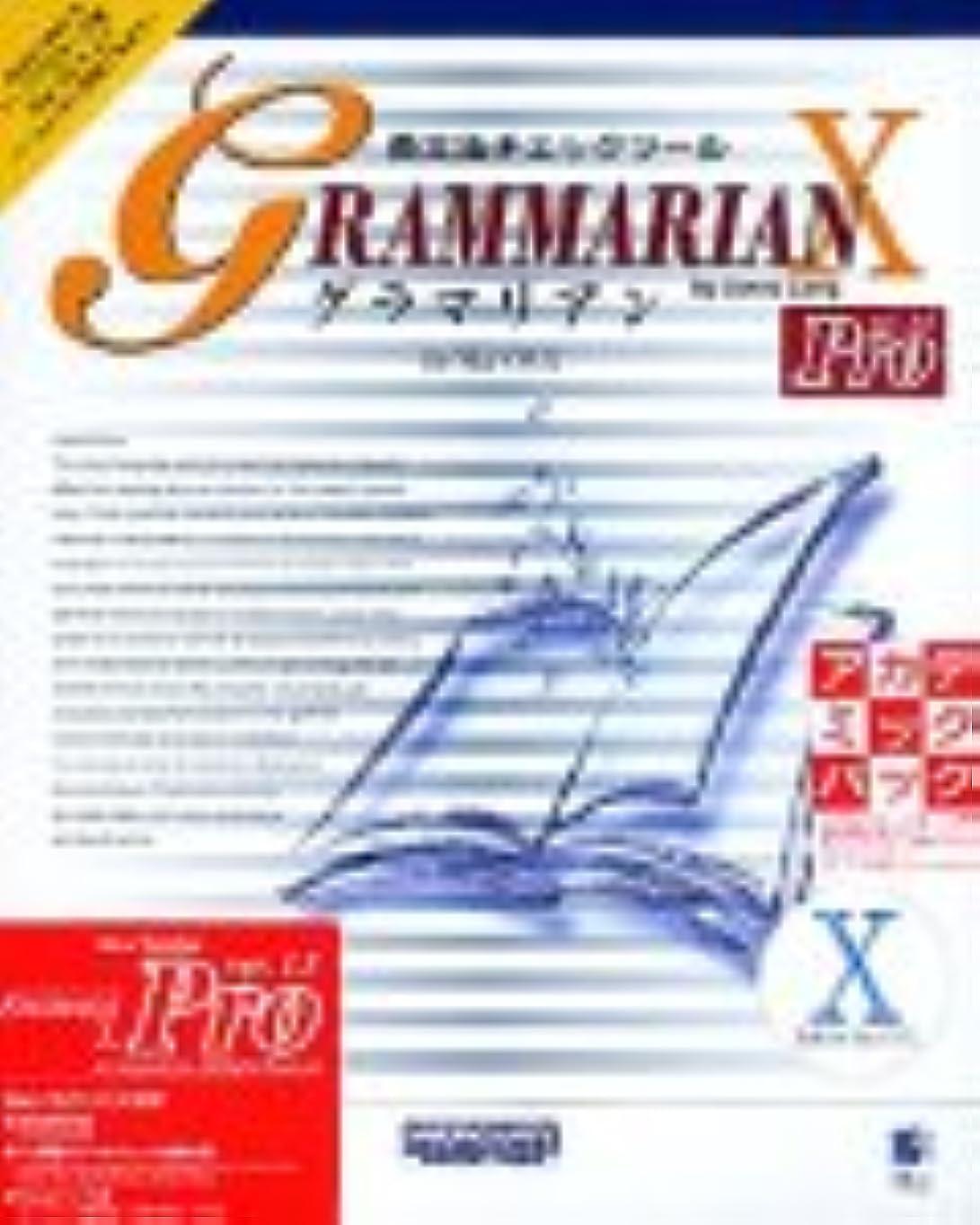 焦がす平衡同意するGrammarian Pro X Ver.1.5 アカデミックパック