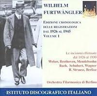 Chronological Edition I: 1926-1930
