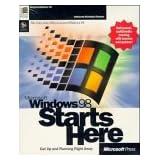 WINDOWS98 STARTS HERE INT'L VERSION (Microsoft Press)