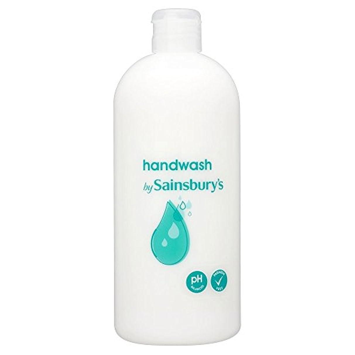 唯一年金受給者用心するSainsbury's Handwash, White Refill 500ml (Pack of 4) - (Sainsbury's) 手洗い、白リフィル500ミリリットル (x4) [並行輸入品]