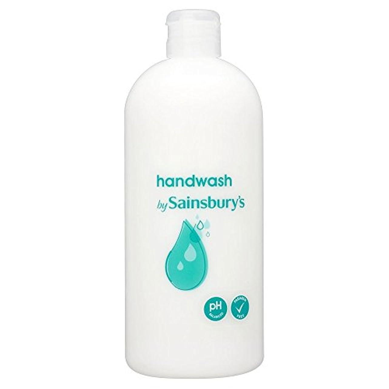 拾う原子バックアップSainsbury's Handwash, White Refill 500ml (Pack of 4) - (Sainsbury's) 手洗い、白リフィル500ミリリットル (x4) [並行輸入品]
