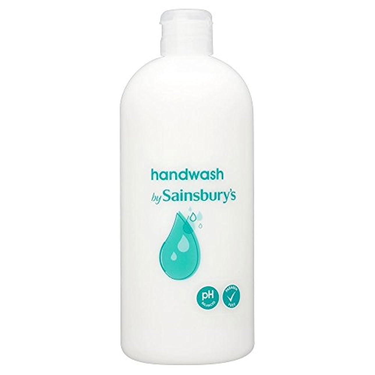 枯渇事実上鉄道駅Sainsbury's Handwash, White Refill 500ml (Pack of 4) - (Sainsbury's) 手洗い、白リフィル500ミリリットル (x4) [並行輸入品]