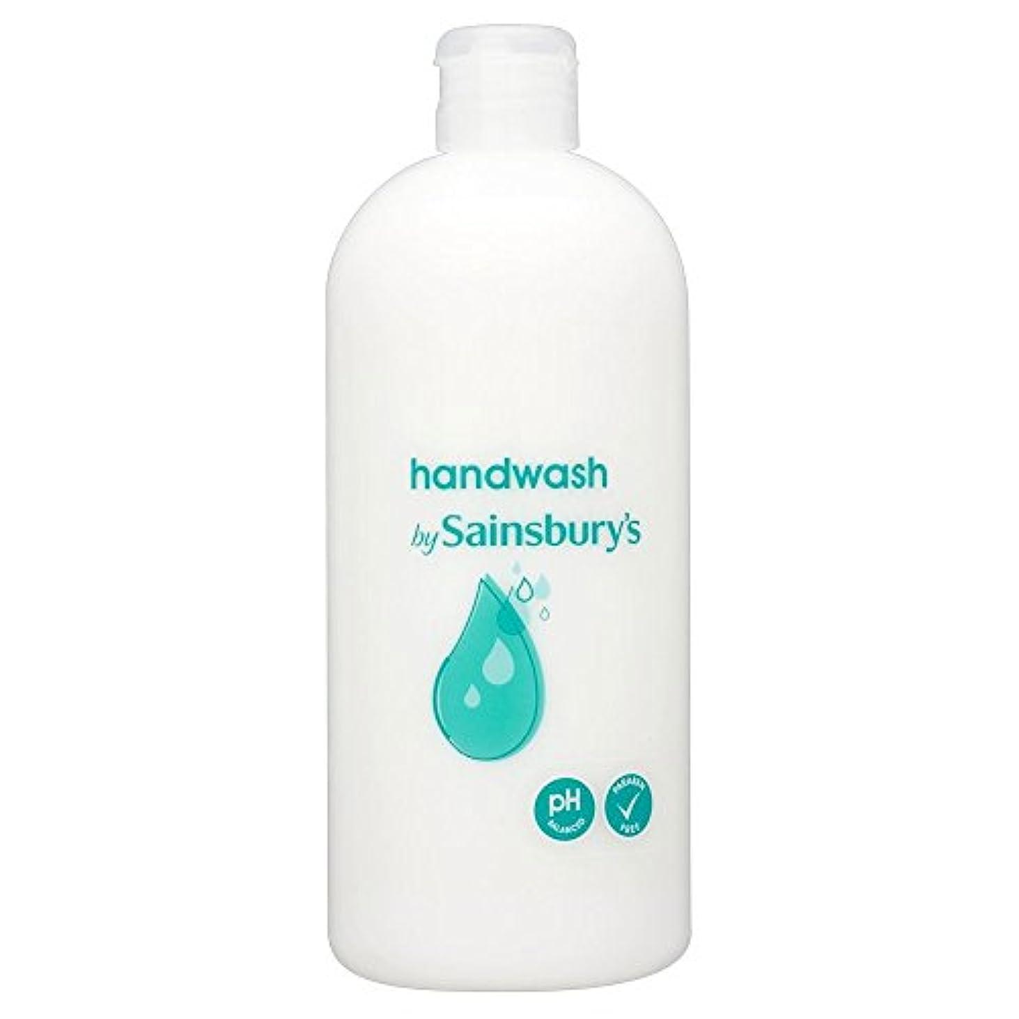 雹浸漬モニターSainsbury's Handwash, White Refill 500ml (Pack of 6) - (Sainsbury's) 手洗い、白リフィル500ミリリットル (x6) [並行輸入品]