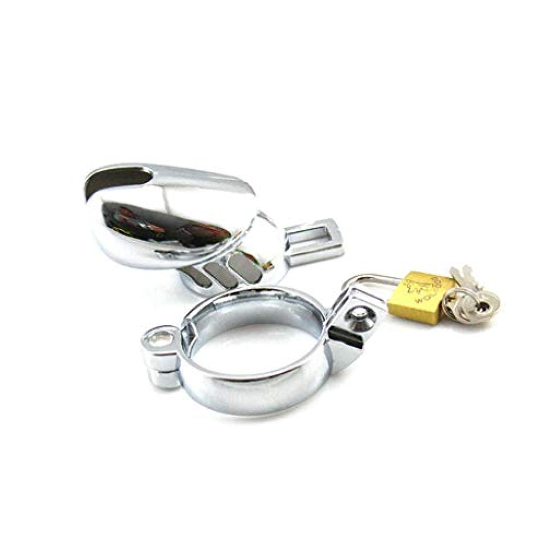 LRWTY メンズステンレススチールメタルバニティロックペニスセックス玩具健康と安全 LW ( Size : 40mm )