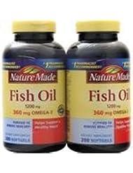 魚油(1,200mg)(ツインパック)400 sgels 3個パック