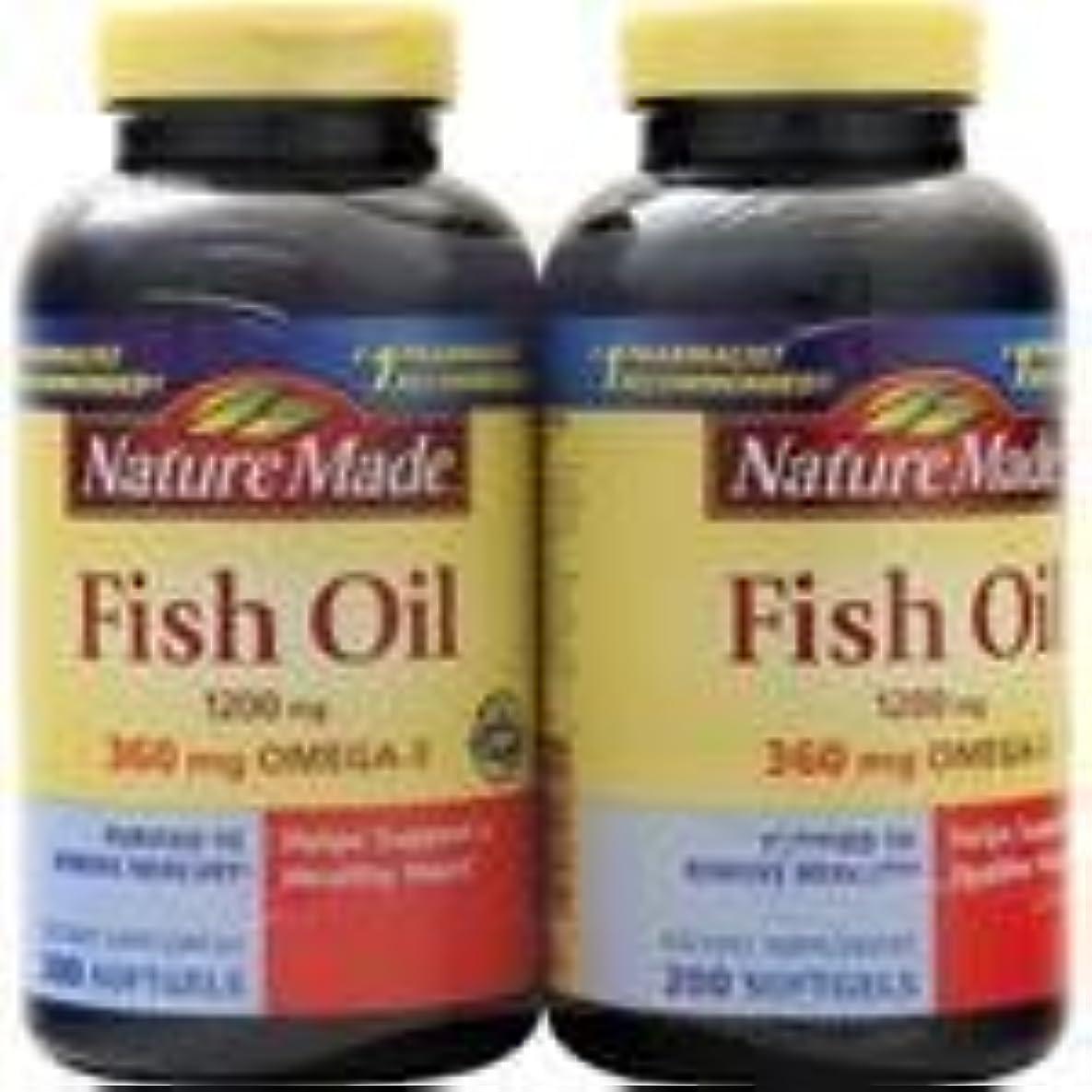 ぼろ着替えるに対して魚油(1,200mg)(ツインパック)400 sgels 3個パック