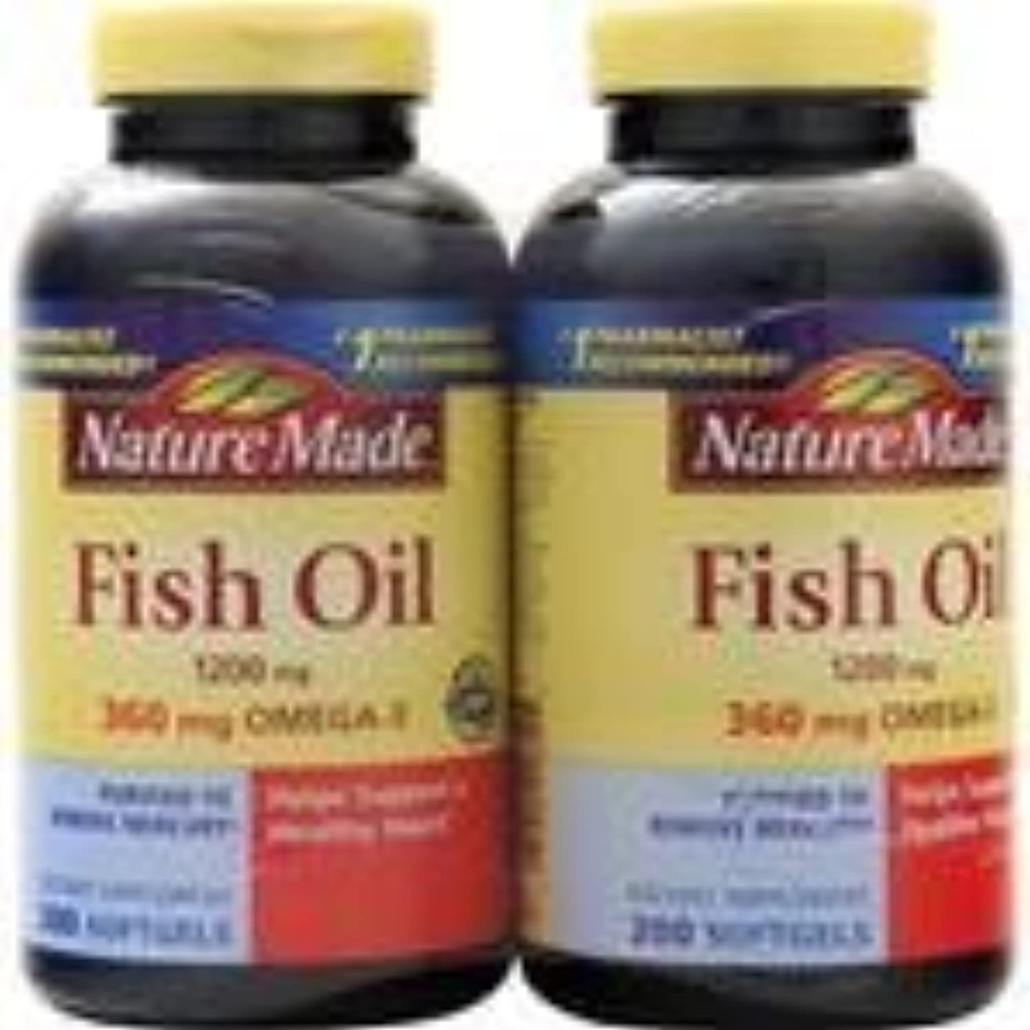 同情内側収入魚油(1,200mg)(ツインパック)400 sgels 3個パック