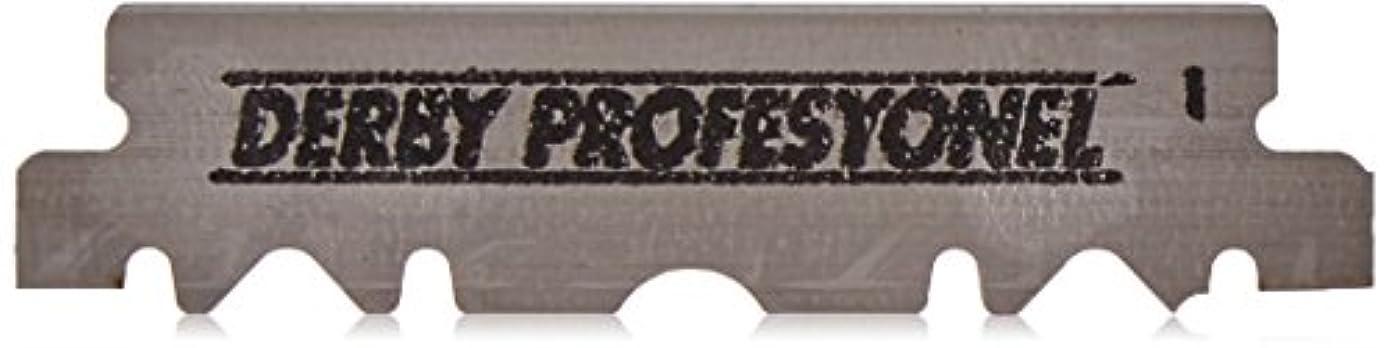 フォージ最初は統計的Derby International 100枚のダービープロフェッショナルシングルエッジかみそりの刃