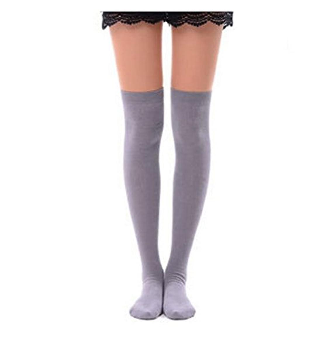 右階層政権Manu20 トップ弾力性 女子高生の靴下 サイハイソックス スッキリ 美脚 着圧オーバーニーソックス