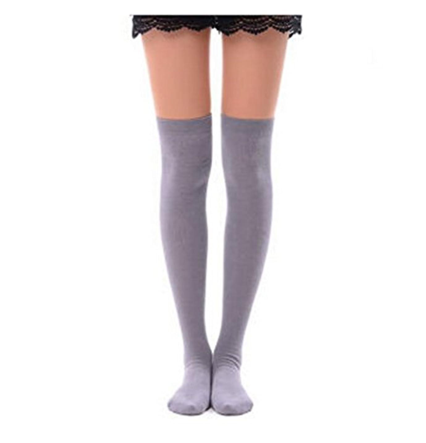 険しい論文不条理Manu20 トップ弾力性 女子高生の靴下 サイハイソックス スッキリ 美脚 着圧オーバーニーソックス