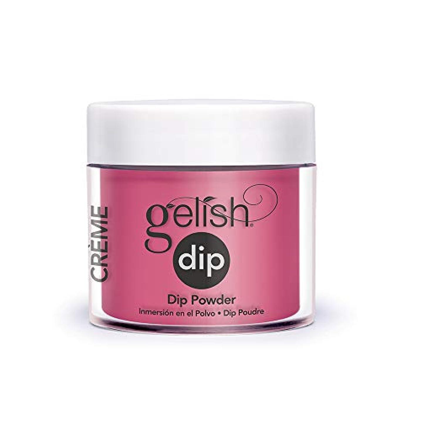 メッセージ報復パッチHarmony Gelish - Acrylic Dip Powder - All Dahlia-ed Up - 23g / 0.8oz