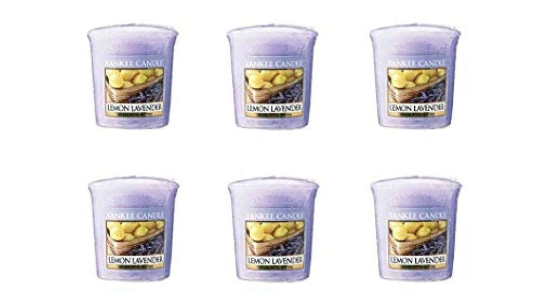 肥料塗抹ヤンキーキャンドル YCサンプラー K0010530 レモンラベンダー 6個入り
