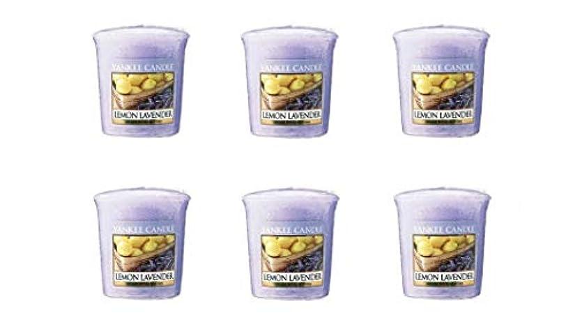 任命分析的な麦芽ヤンキーキャンドル YCサンプラー K0010530 レモンラベンダー 6個入り