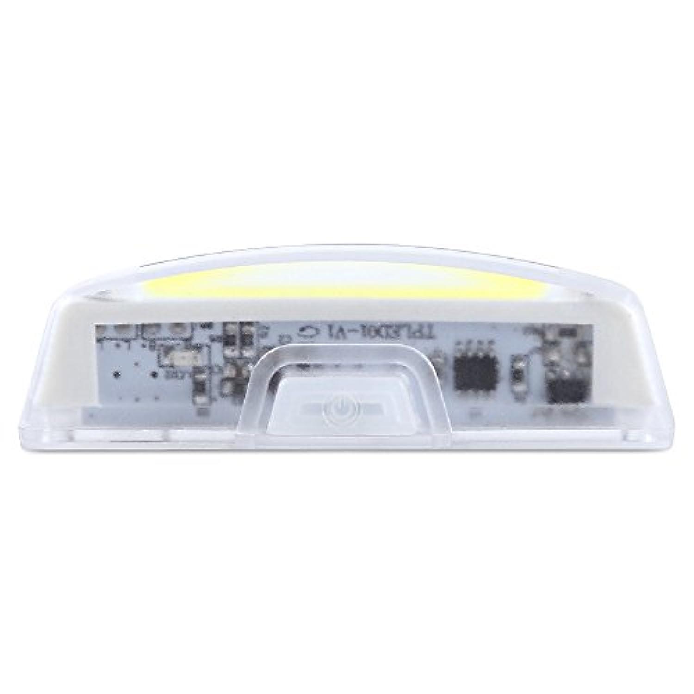 自転車のヘッドライトの乗り物の装置曇りの警告ライトUSBの充電の安全ライト夜のライドホワイト