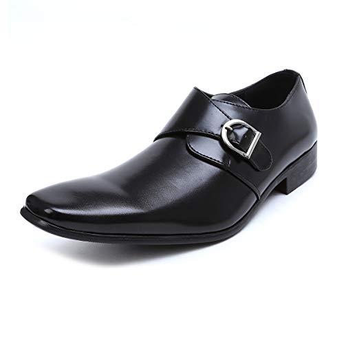 [エムエムワン] ビジネスシューズ メンズ 合成革靴 モンク...