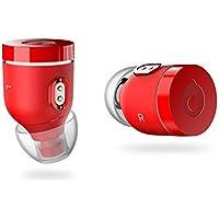 Air by crazybaby (NANO) 完全ワイヤレスイヤホン Bluetooth5 レッド【国内正規品】 MC7B6GT/A