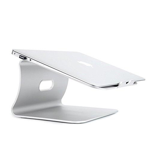 Spinido® アルミニウム製 MacBook/SONY/SAMSUNG ノート PC スタンド silver