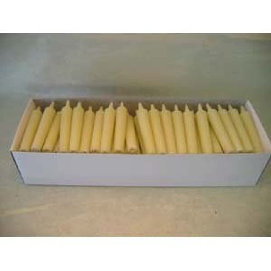 実施するハンマーコンデンサー和ろうそく 型和蝋燭 ローソク 豆型 棒タイプ 白 100本入り