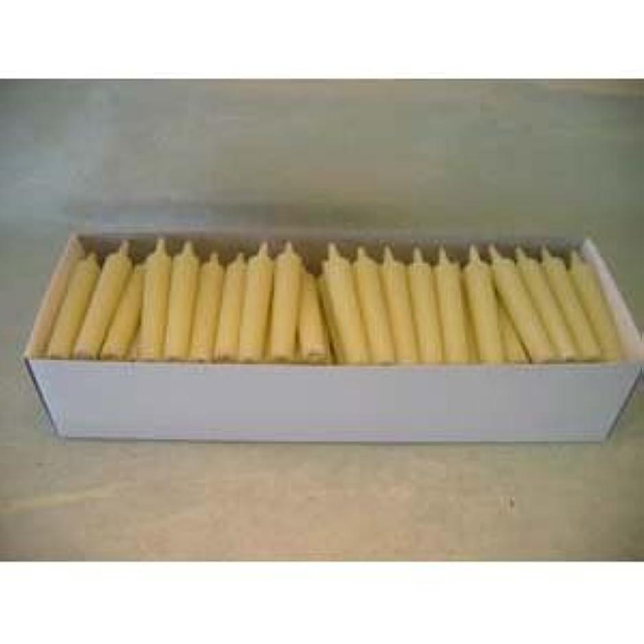 喉が渇いた標準ラベル和ろうそく 型和蝋燭 ローソク 豆型 棒タイプ 白 100本入り