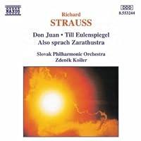 Richard Strauss Don Juan - Till l'Espiègle - Ainsi parlait Zarathoustra