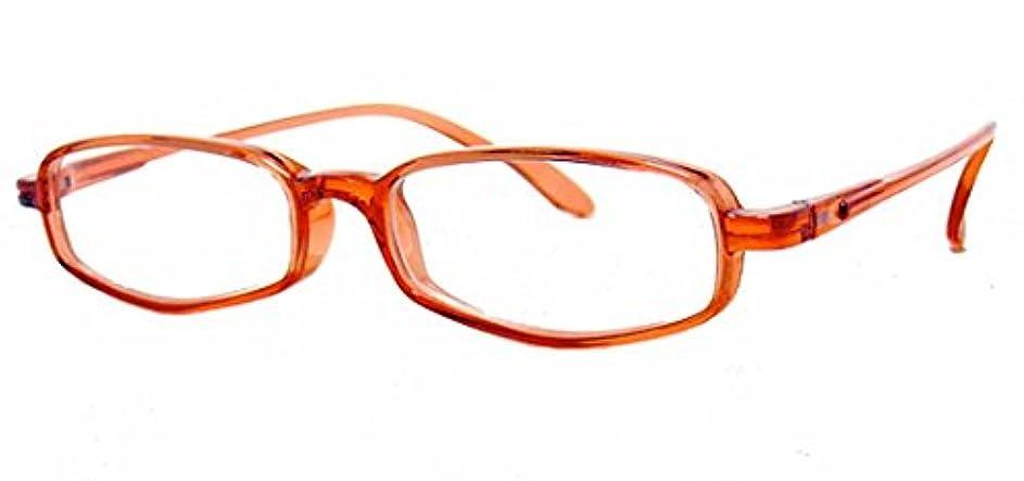 手荷物飛ぶ肉純日本製 やわらかシニアグラス(老眼鏡)SABAEシリーズ【サンセット?レッド】鯖江製メガネ?JAPAN 度数:+0.75~+3.50<ケース付>R20