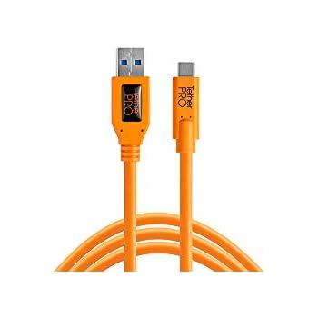 【国内正規品】TetherTools テザーツールズ TetherPro USB 3.0 to USB-C, 15' (4.6m) ORG CUC3215-ORG
