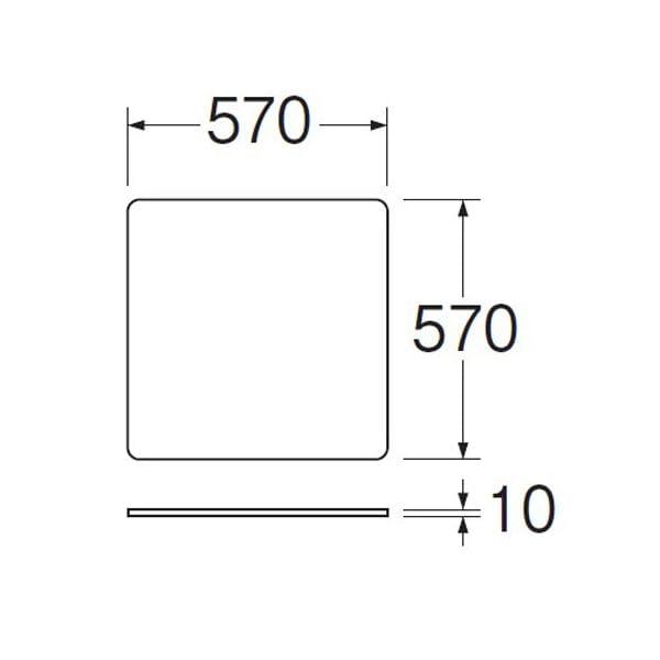 三栄水栓 洗濯機用 トレー 全自動用 PH54...の紹介画像3