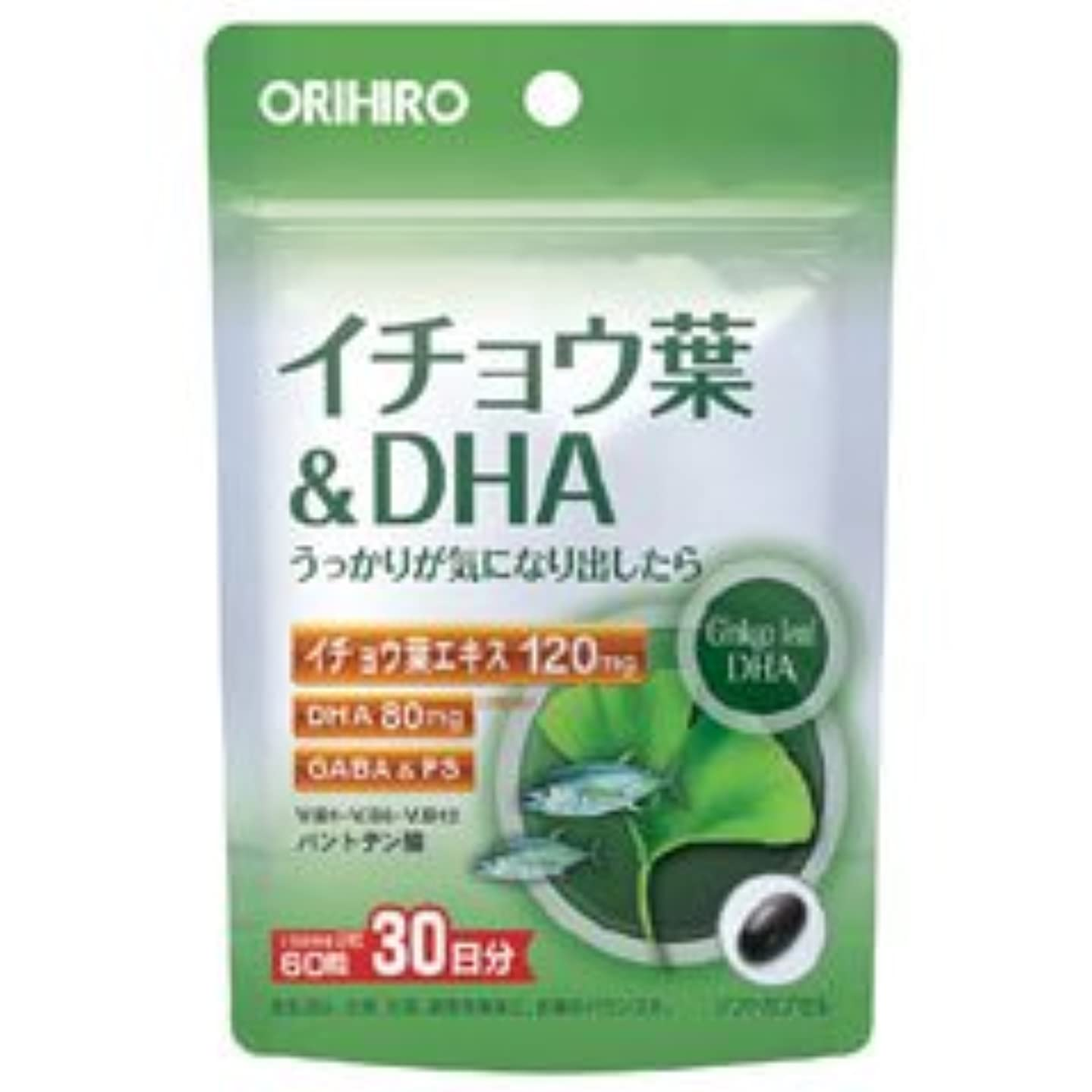 水平極めてパラダイスPDイチョウ葉&DHC 60粒×(6セット)