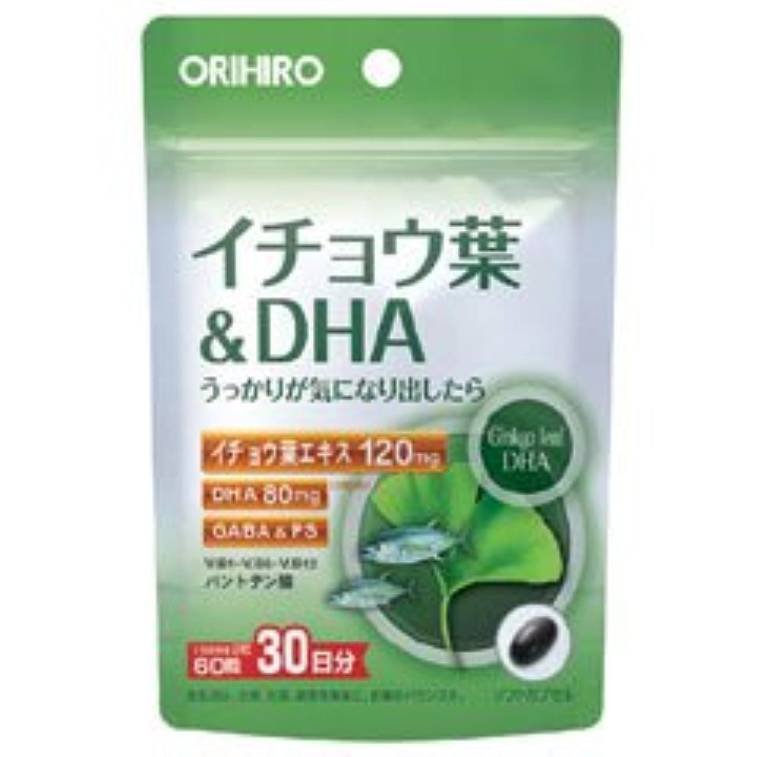 ラベル踊り子周辺PDイチョウ葉&DHC 60粒×(6セット)