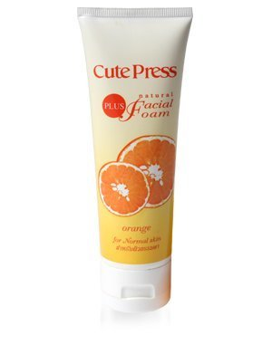 Cutepress Plus Natural Facial Foam for Normal Ski by by Cute press [並行輸入品]