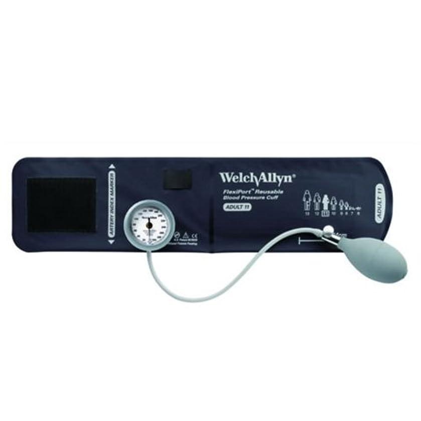サーバメンダシティアイロニーWelch Allyn [ウェルチアレン]DS44 デュラショック成人用(中) アネロイド血圧計 DS44-11 ジッパーケース付き