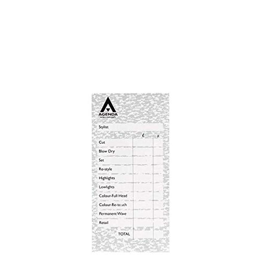 眠りミネラルオートマトンアジェンダ サロンコンセプト チェックパッドグレー6x100リーフ[海外直送品] [並行輸入品]