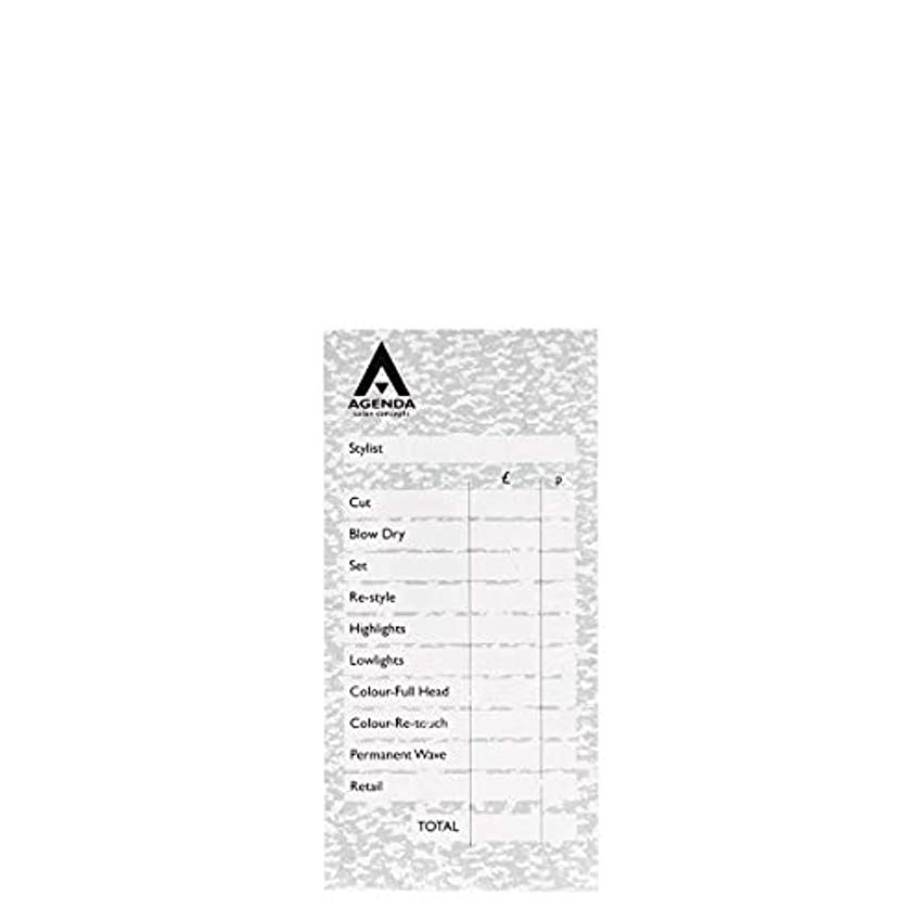 合併症類推快適アジェンダ サロンコンセプト チェックパッドグレー6x100リーフ[海外直送品] [並行輸入品]