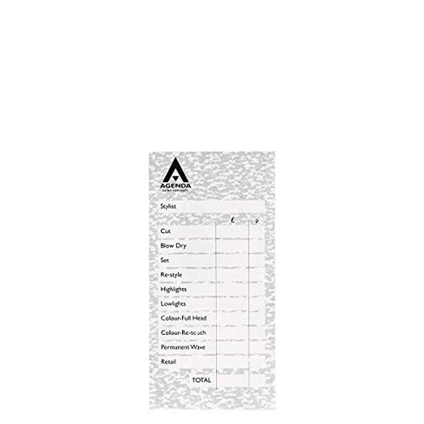 勝者ステンレス整然としたアジェンダ サロンコンセプト チェックパッドグレー6x100リーフ[海外直送品] [並行輸入品]