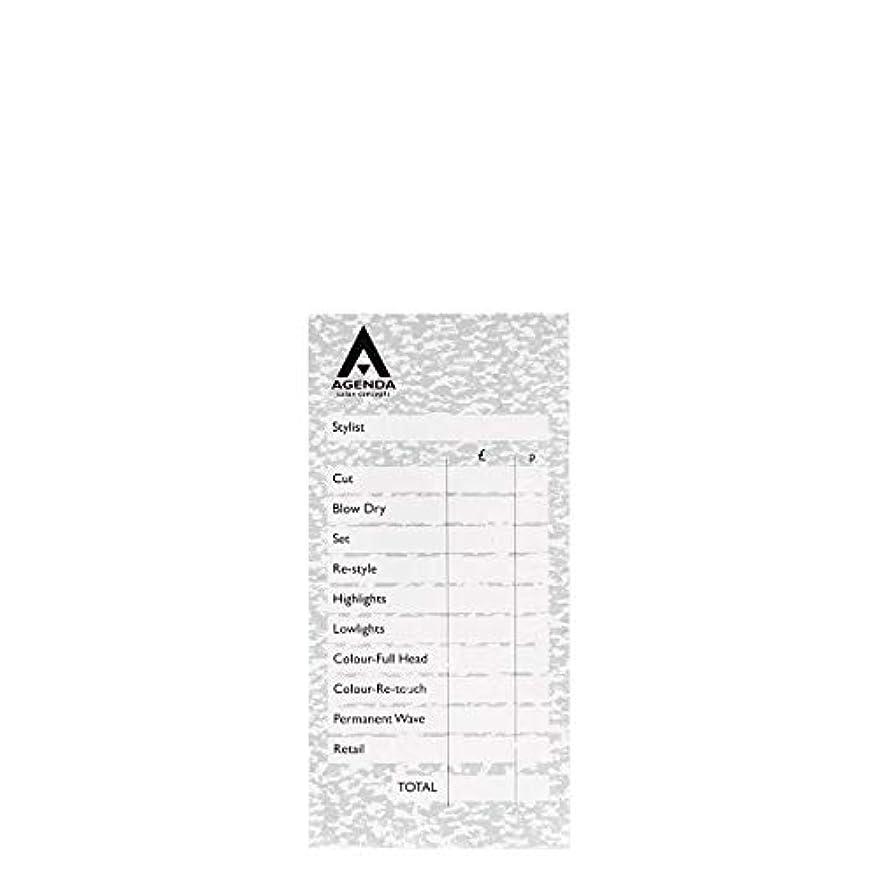 タップ回答酔ったアジェンダ サロンコンセプト チェックパッドグレー6x100リーフ[海外直送品] [並行輸入品]