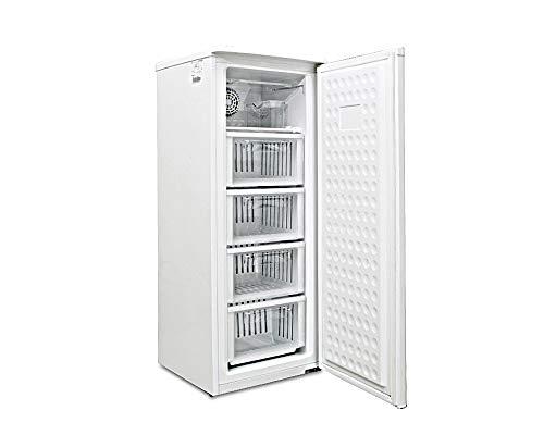 ALLEGiA(アレジア) 冷凍庫 ストッカー(107L) 家庭用前開きタイプ ファン式 霜取り不要...