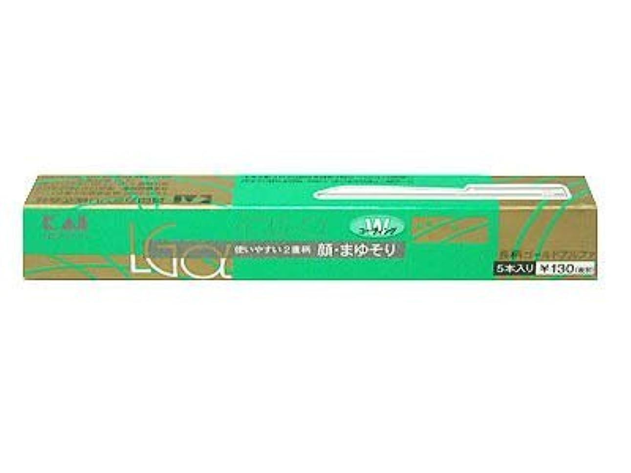 注入奨学金伝染性長柄カミソリ ゴールドアルファー LGα-5H1 ×3個セット