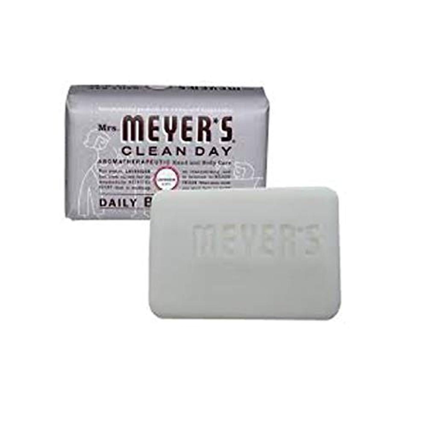 中古ゲートウェイ踊り子2 Packs of Mrs. Meyer's Bar Soap - Lavender - 5.3 Oz by Mrs. Meyer's Clean Day