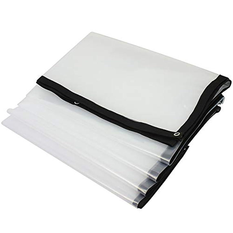 地図素晴らしさ記憶XJZxX 透明ターポリン防雨布絶縁布窓プラスチック布バルコニーターポリン不凍防塵アンチエイジング屋外オーニング布 (サイズ さいず : 1x2m)