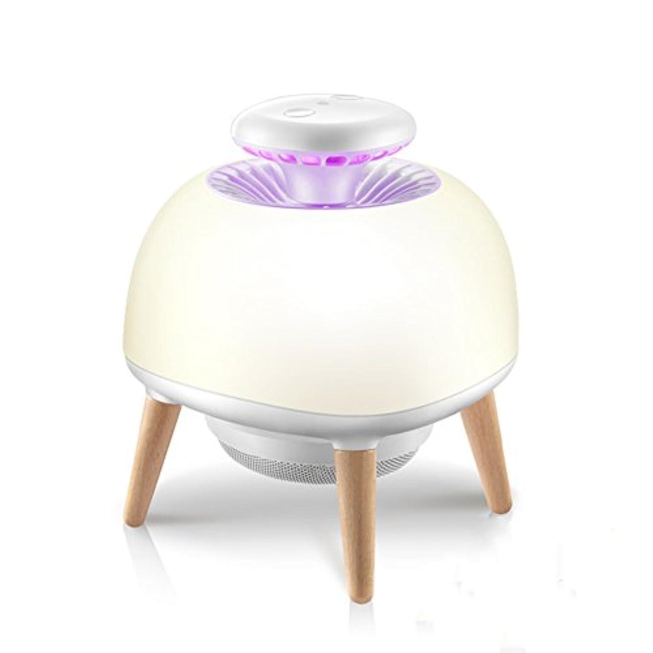 簡単な喜劇出撃者WENZHE 蚊対策 殺虫器灯 誘虫灯 虫除け テーブルランプ インドア 世帯 LED光源 プラグインタイプ サイレント 多機能、 白、 160×195mm