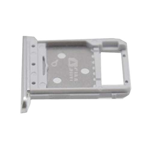 H HILABEE SIMカードトレイ ホルダー スロット リリースピン Samsung Galaxy Tab S4 10.5 T830 T835対応 銀